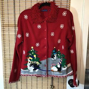 Yes Ugly Christmas Sweaters DO exist Virginia!